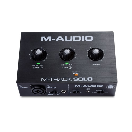 M-AUDIO MTRACK SOLOII 2-in 2-out USB- audio interface