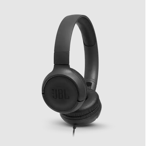 JBL TUNE 500 BLACK on-ear - slušalice