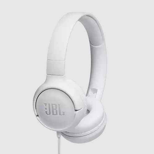 JBL TUNE 500 WHITE on-ear - slušalice