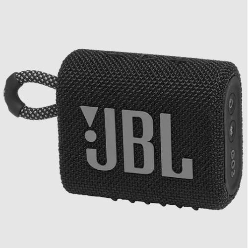 JBL GO 3 BLACK prijenosni Bluetooth - zvučnik