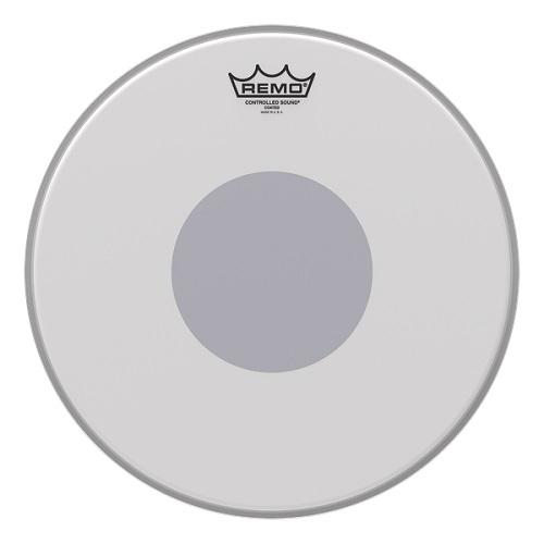 Remo CONTROLLED SOUND 14 CS-0114-20 COATED BLACK DOT on revers side - opna za bubanj