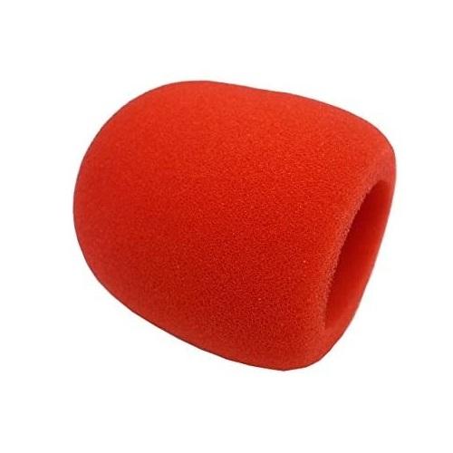 Superlux spužvica S40RD za mikrofon crvena boja