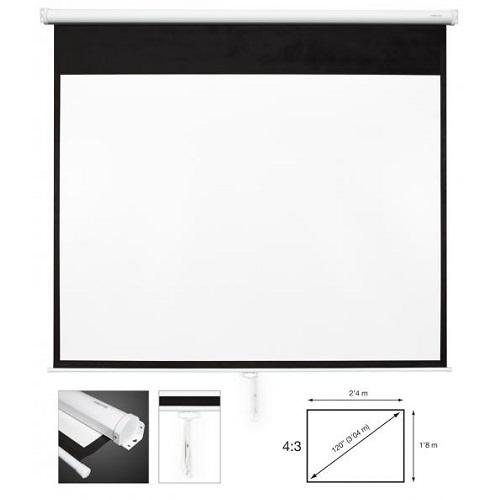 FONESTAR PPMA-43120-BA projekcijsko platno 2,4m x 1,8m manualno
