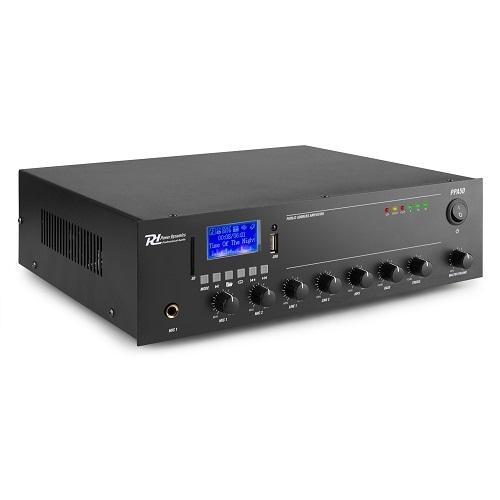 Power Dynamic PPA50 952.080 50watt 100V pojačalo sa MEDIA PLAYEROM