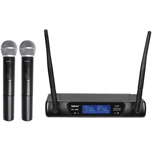 SAR KARMA SET-6092 bežični mikrofon (2kom) VHF