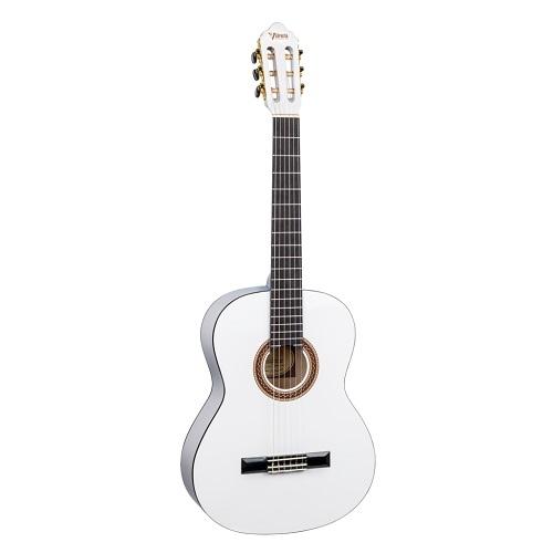 Valencia Klasična gitara VC104 WT - bijela boja