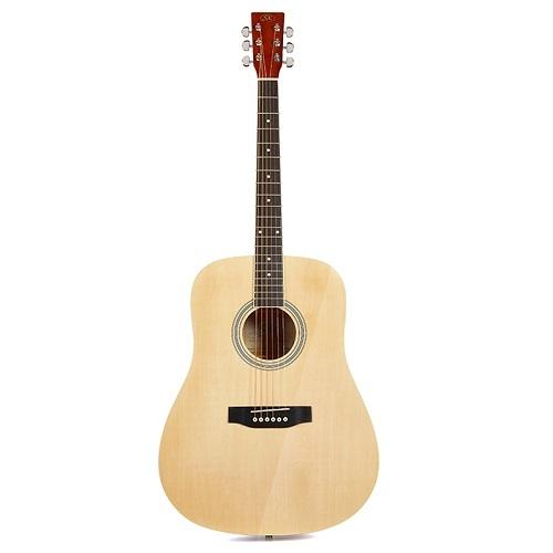 SX SD104 - NATURAL - akustična gitara