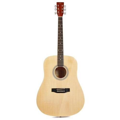 SX SD104G - NATURAL GLOSS - akustična gitara