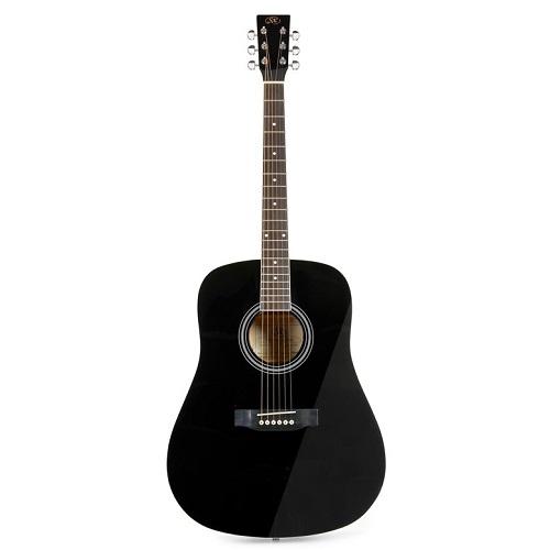SX SD104BK - BLACK GLOSS - akustična gitara