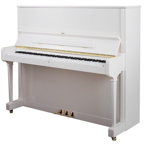 PETROF P125G1 Upright Piano Higher Series 125cm bijela boja