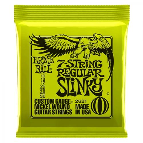 Ernie Ball Slinky P02621 Nickel regular 10-56 žice za gitaru ( 7 žica )