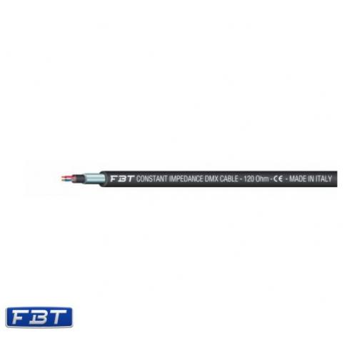 FBT DMX Profesional DMX 512 standard Cable 120 Ohm- 5,4mm