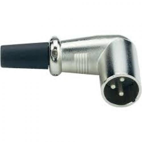 Q-LOK NC755-K kutni XLR muški kontakt