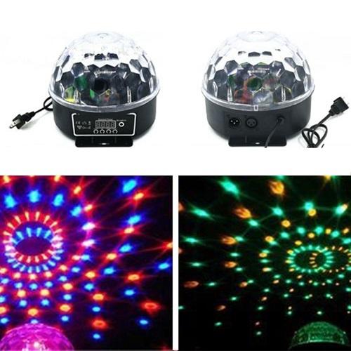 SAR Easy Light LXGF111 LED RGB krist. kugla DMX