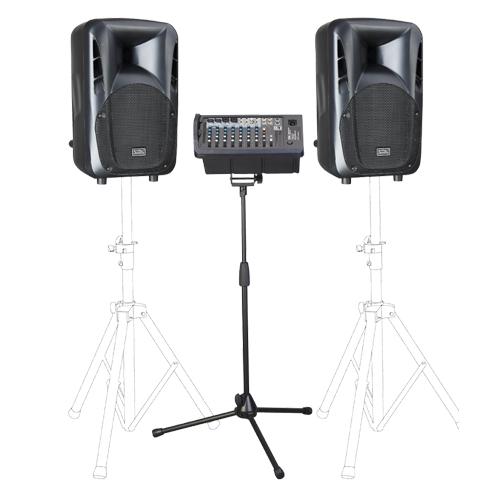 Soundking PAP10 + W106RTH 2x200watt portabilni razglas