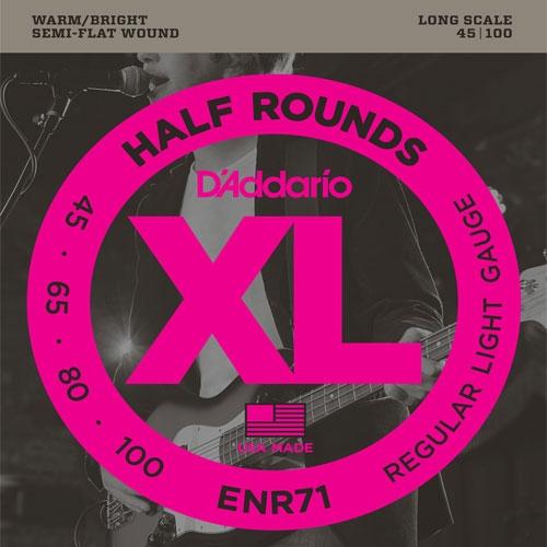 daddario ENR71 45-100 (half round) žice za bass