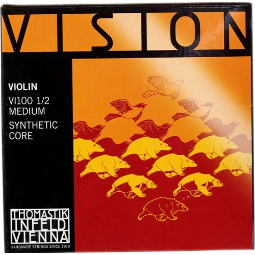 THOMASTIK VISION VI100 1/2 - žice za violinu