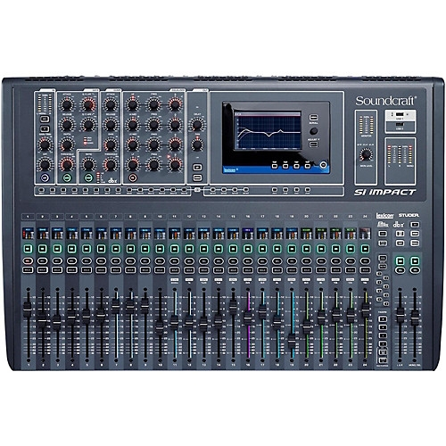 SOUNDCRAFT Si Impact 32ch digitalna audio mikseta, USB, iPad kontrola