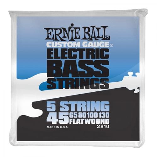Ernie Ball P02810 FLATWOUND BASS 5-STRING 45-130 žice za bas