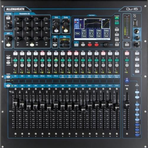 Allen & Heath QU16 CHROME digitalna audio mikseta
