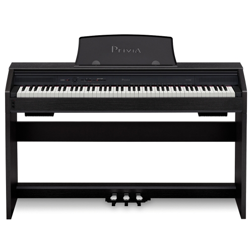 CASIO Privia PX760-BK digitalni pianino crna boja