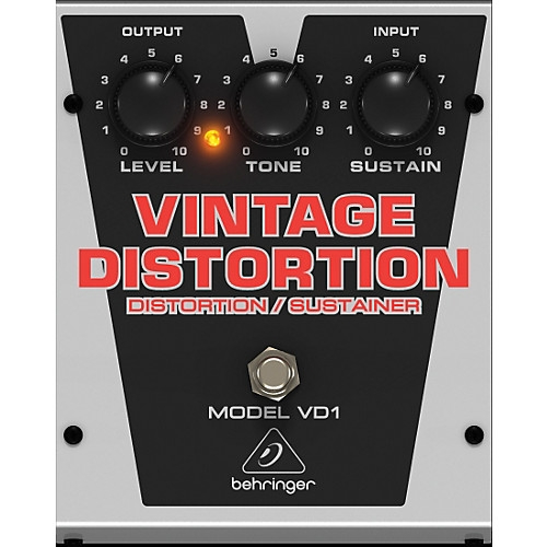 BEHRINGER VD1 vintage distortion pedala