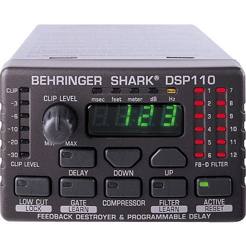 BEHRINGER DSP110 feedback destroyer