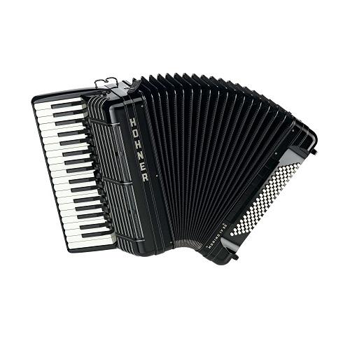 HOHNER MORINO IV 96 black harmonika 96 basova