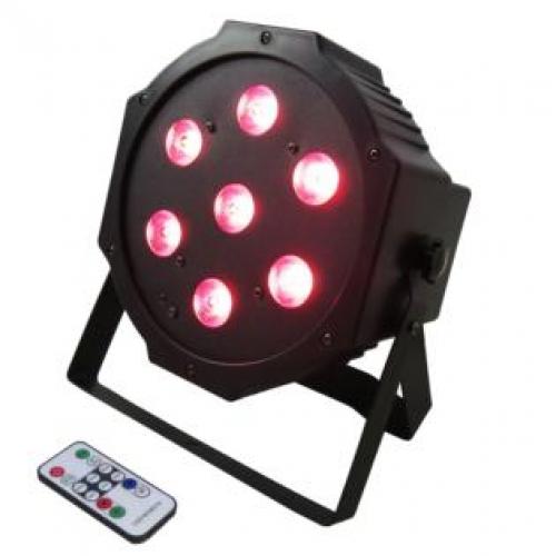 SAR KARMA LED PAR-28 RGBW 7x4W sa daljinskim upravljačem