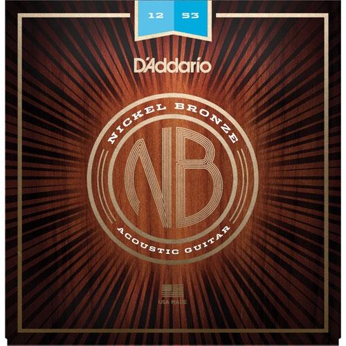 daddario NB 12-53 nickel bronze žice za akustičnu gitaru