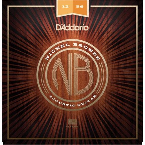 daddario NB 12-56 nickel bronze žice za akustičnu gitaru