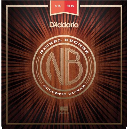 daddario NB 13-56 nickel bronze žice za akustičnu gitaru