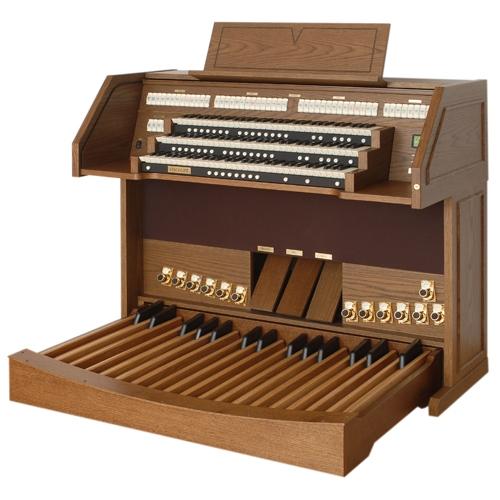 Viscount VIVACE 90 - 3-manuala,32 note radiating concave pedal,210watt klasične orgulje