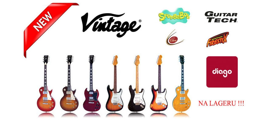 VINTAGE Guitars JHS brandovi u BROTHERS-u