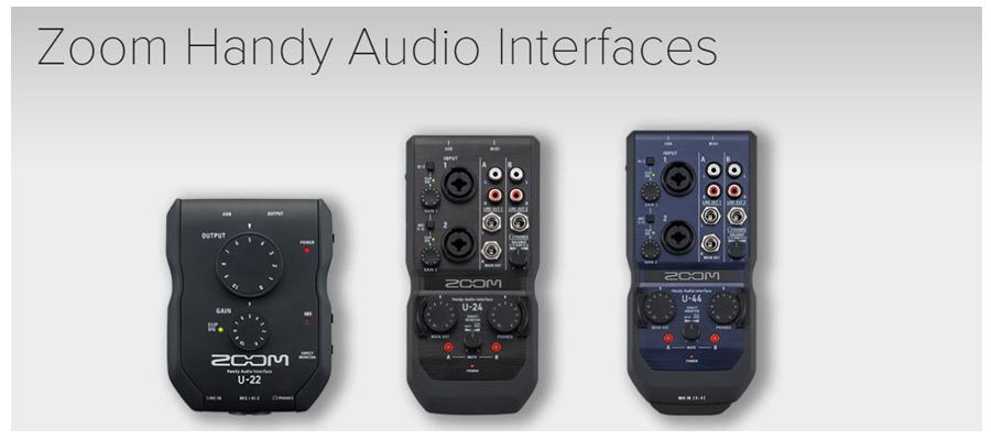 ZOOM nove audio zvučne kartice