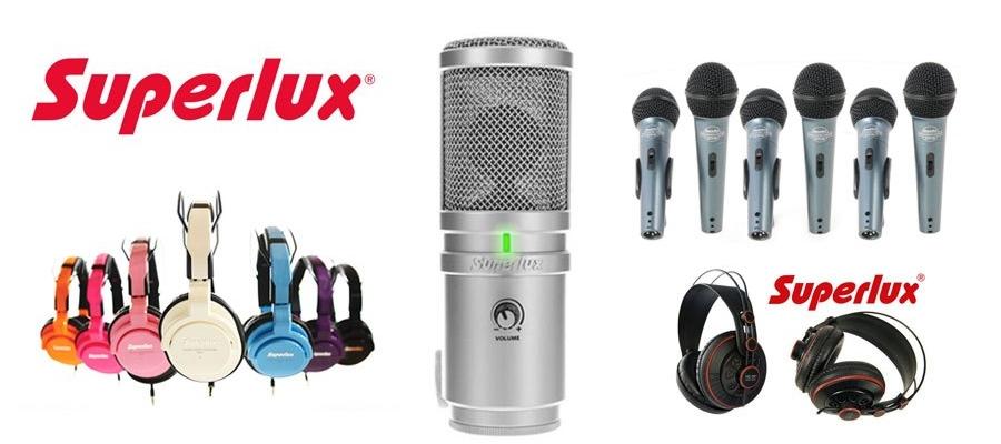 Stigla nova posiljka Superlux proizvoda !!!